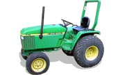 John Deere 770 tractor photo