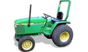 John Deere 770 tractor photo
