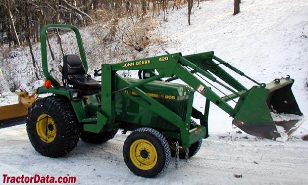 John Deere 955 Tractor Photos Information