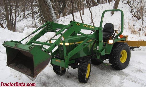 John Deere 420 Loader John Deere 400 Series John Deere Tractor Parts