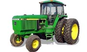 John Deere 4560 tractor photo