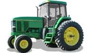 John Deere 7700 tractor photo