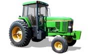 John Deere 7800 tractor photo