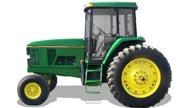 John Deere 7200 tractor photo