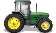 John Deere 7400 tractor photo