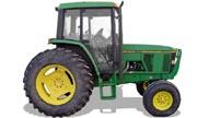 John Deere 6200 tractor photo