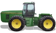 John Deere 8570 tractor photo