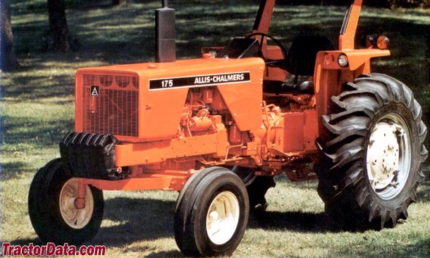 Allis-Chalmers Crop Huster 175 advertising photo