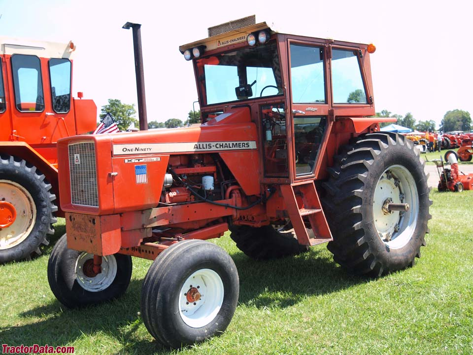 Allis-Chalmers 190XT with cab, left side.
