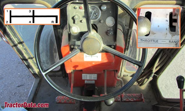 Allis Chalmers 200  transmission photo