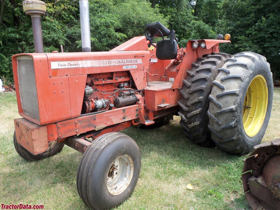 Allis-Chalmers 220 with two-wheel drive.