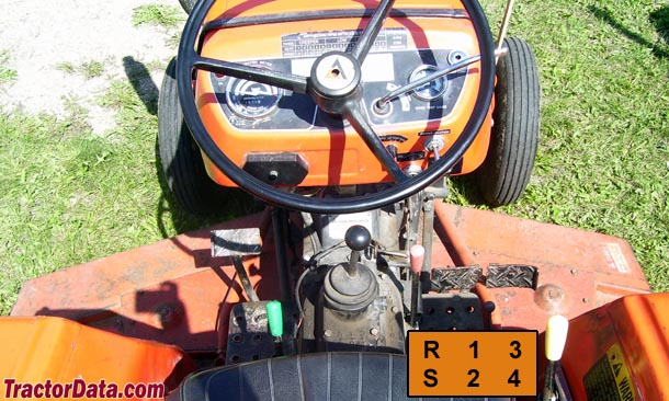 Allis Chalmers 5020  transmission photo