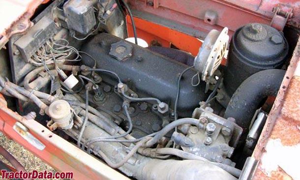 Allis Chalmers 5050  engine photo