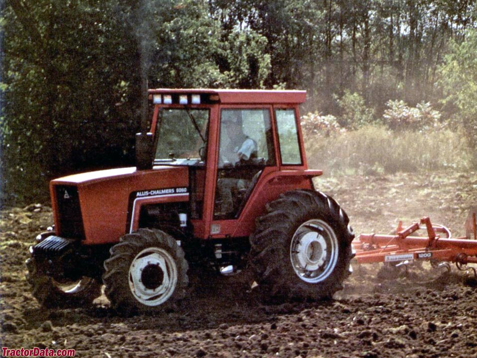 Allis-Chalmers 6060 with four-wheel drive.