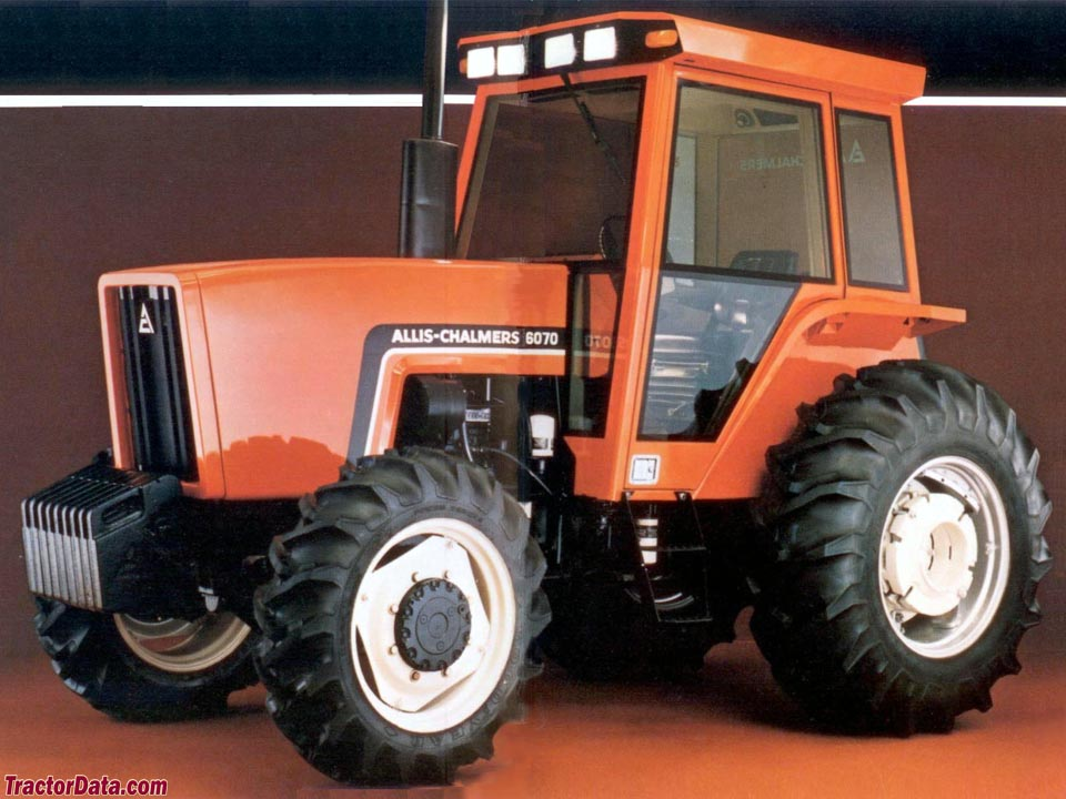 Allis-Chalmers 6070 advertising photo.