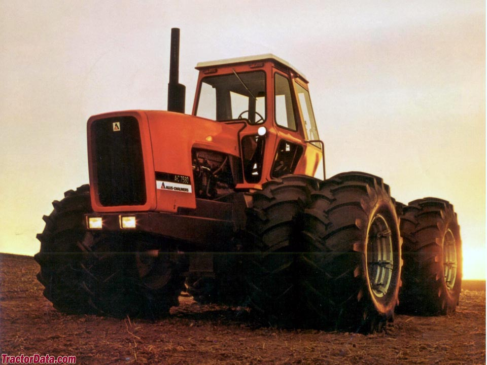 Allis-Chalmers 7580 promotional photo.