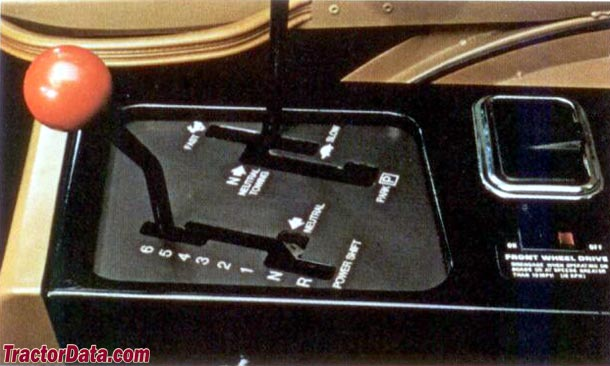 Allis Chalmers 8010 Power Shift transmission photo