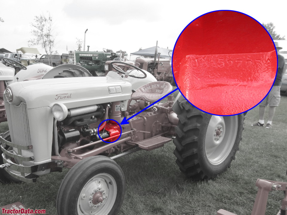 Tractordata Com Ford Golden Jubilee Naa Tractor Information