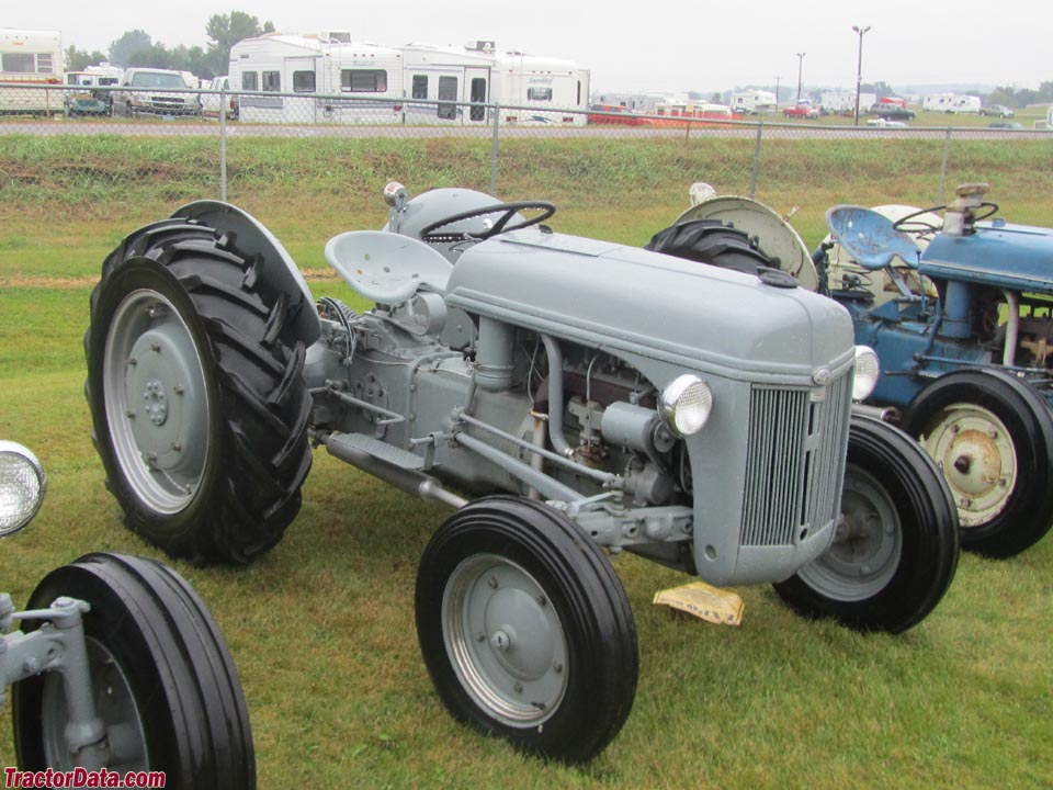 Ford 2N with rubber tires.