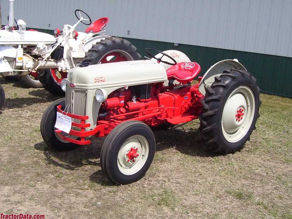 TractorData com Ford 8N tractor photos information