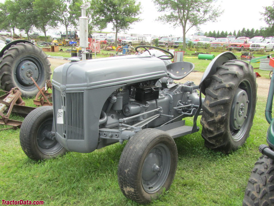 Ford 9n Parts : Serial number location on ford n tractor get