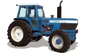 Ford TW-30 tractor photo
