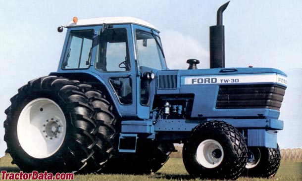 TractorData.com Ford TW-30 tractor photos information