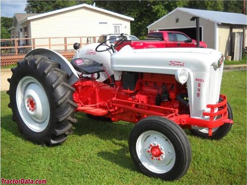 Ford 600 Tractor Serial Number : Tractordata ford tractor photos information