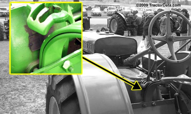 John Deere GP serial number location
