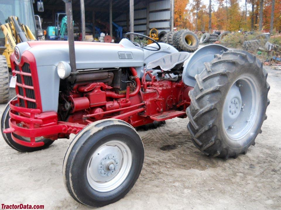 Ford Powermaster Tractor : Ford powermaster tractor data