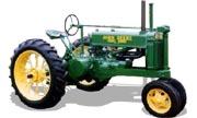 John Deere A tractor photo