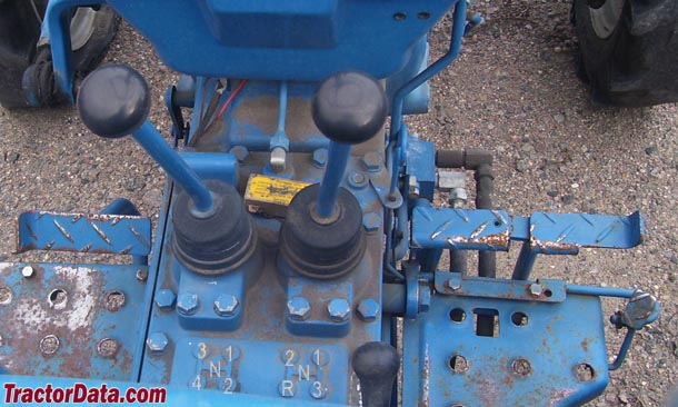 Ford 1710  transmission photo