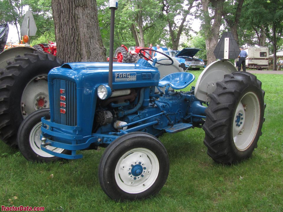 Tractordata Com Ford 2000 Tractor Photos Information
