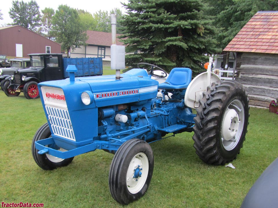 1965 Ford 3000 Tractor : Tractordata ford tractor photos information