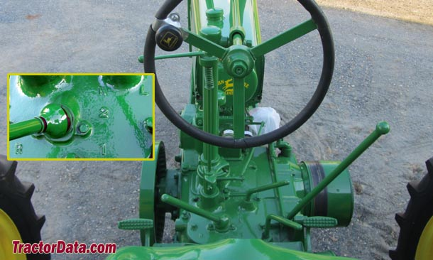 John Deere B  transmission photo