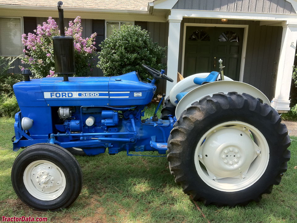 Ford 3600 Tractor : Tractordata ford tractor photos information