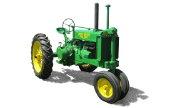 John Deere G tractor photo