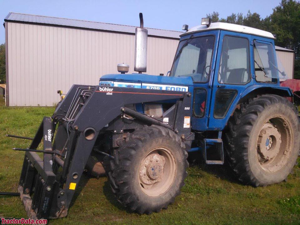 6700 Ford Tractor : Tractordata ford tractor photos information