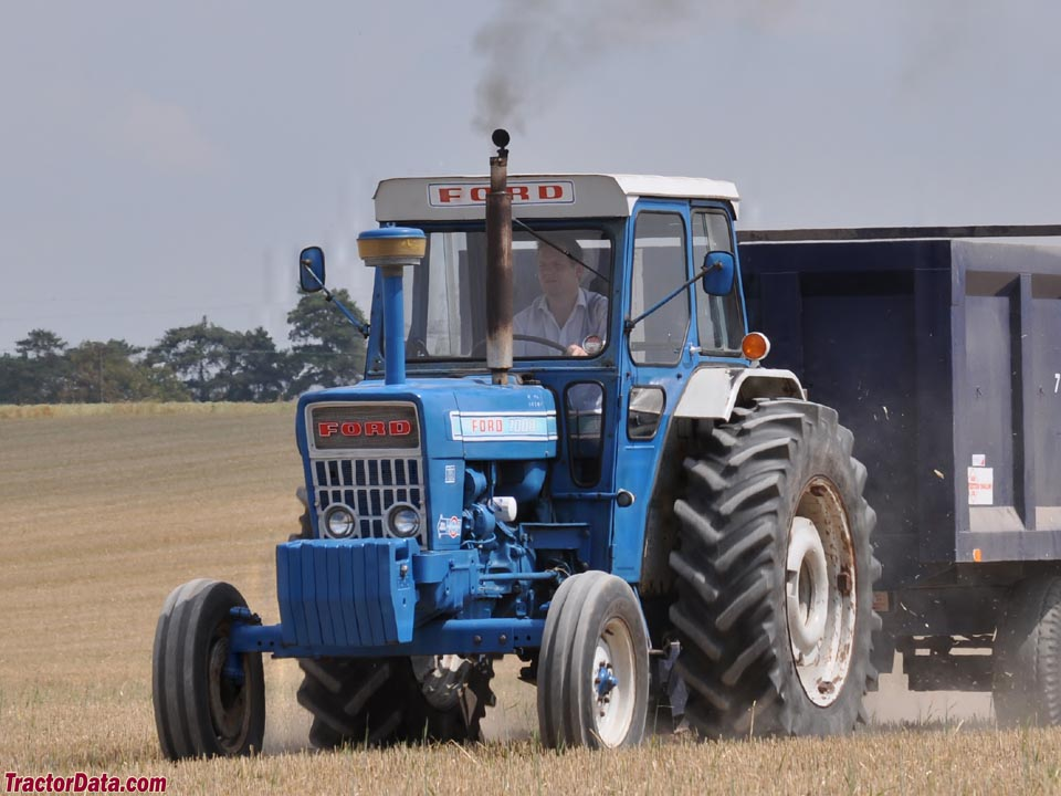 Ford 7000 Tractor : Tractordata ford tractor photos information
