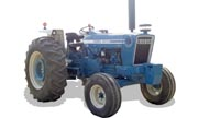 Ford 7600 tractor photo