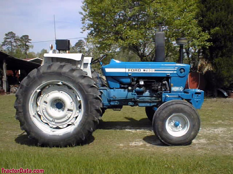 Ford 7600 Specs : Tractordata ford tractor photos information