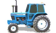 Ford 7700 tractor photo
