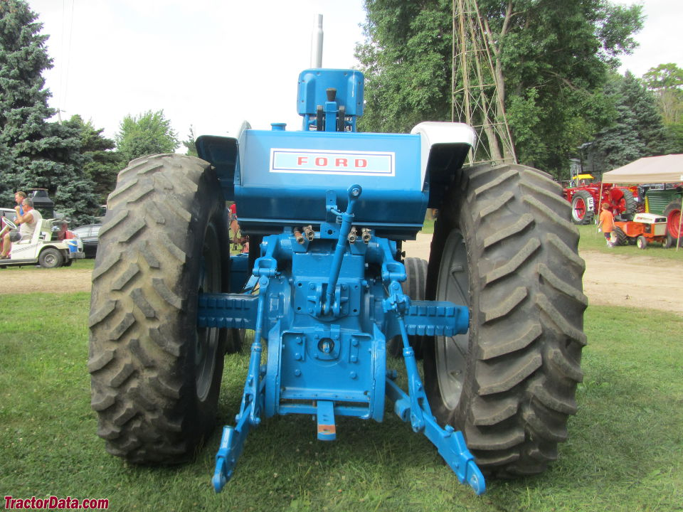 1972 Ford 9000 Tractor : Tractordata ford tractor photos information