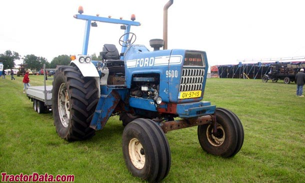 Ford 9600 Tractor : Tractordata ford tractor photos information