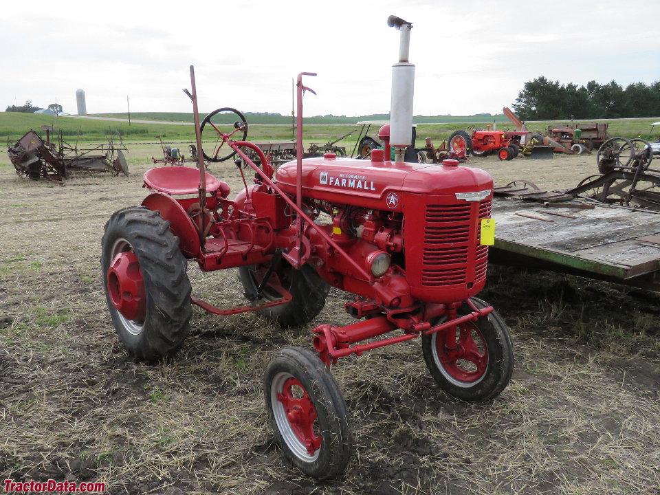 Tractor Data Farm Tractors : Tractordata farmall a tractor photos information