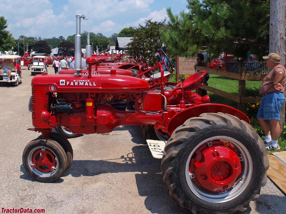 Farmall B, left side.