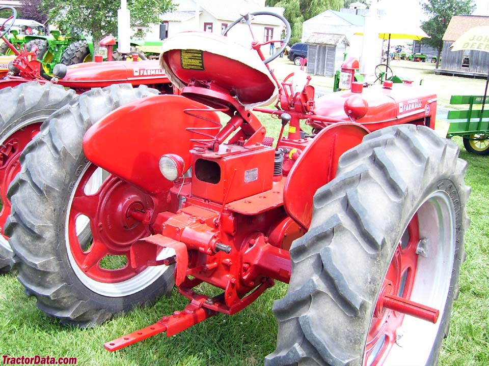 Farmall C, rear view.