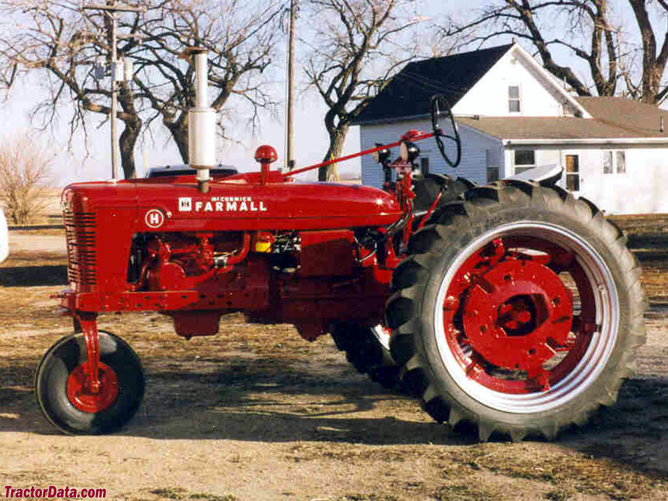 TractorData.com Farmall H tractor photos information