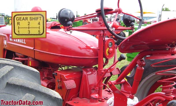 Farmall M  transmission photo