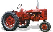 Farmall Super C tractor photo